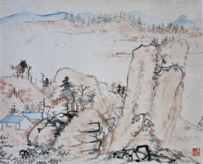 landscape after Shi Tao 石涛