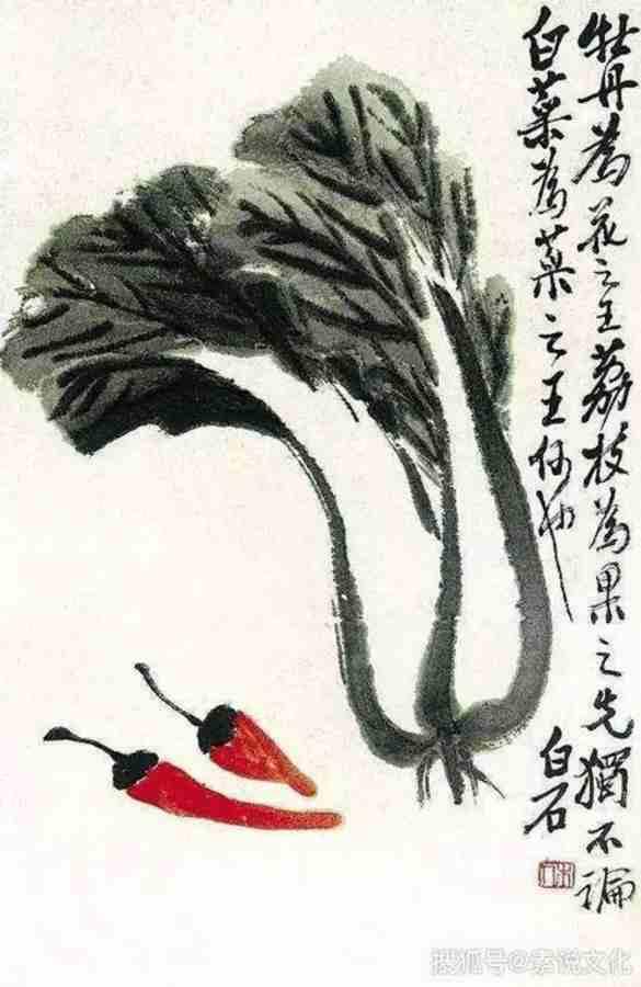 painting by Qi Baishi